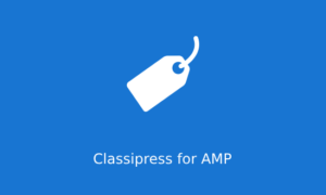 Classipress Theme for AMP