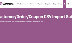 Woocommerce Customer Order Csv Import Suite