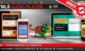 Chameleon HTML5 Audio Player