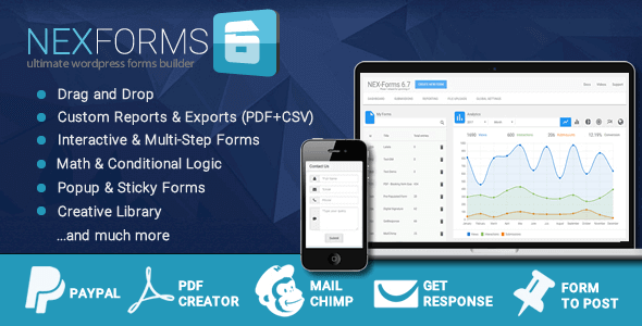 NEX-Forms The Ultimate WordPress Form Builder