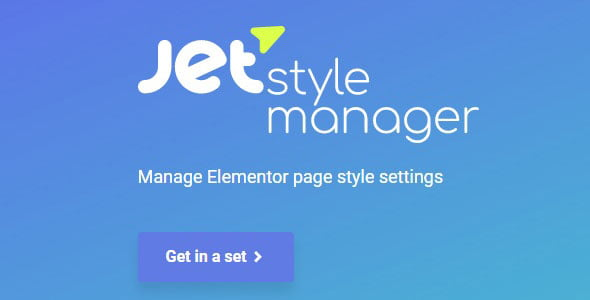 Elementor Jet Style Manager
