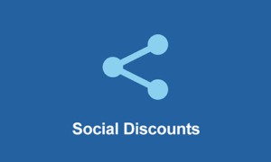 Easy Digital Downloads Social Discounts
