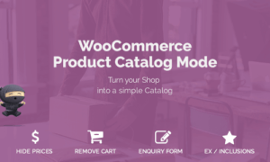 WooCommerce Product Catalog Mode