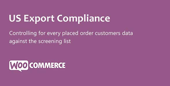 US Export Compliance for WooCommerce